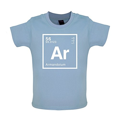 Armando - Periodic Element - Baby/Toddler T-Shirt - Dusty Blue - 18-24 Months