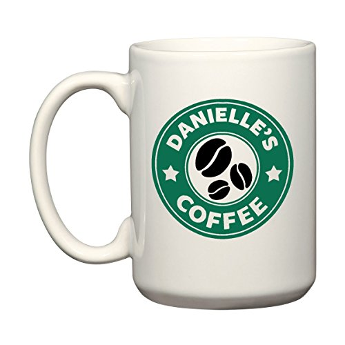 Dein Name - Personalisierte Grüne Kaffeebohne -