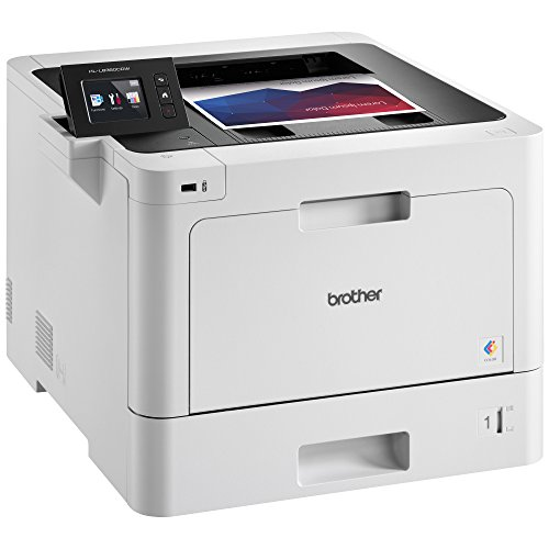 Brother Business Color Laser Printer, HL-L8360CDW, Wireless Networking, Automatic Duplex Printing, Mobile Printing, Cloud printing, Amazon Dash Replenishment Enabled