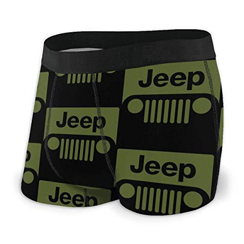 LZMM Herren Je-ep Cj Car Boxershorts Unterhosen Regular Leg Underwear Panties