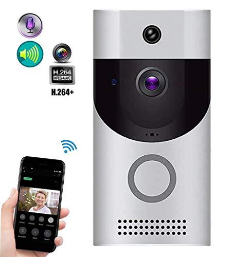 WiFi Ring Video deurintercom bel HD 720P mobiele telefoon afstandsbediening afstandsbediening nachtzicht Smart Home Door Lock