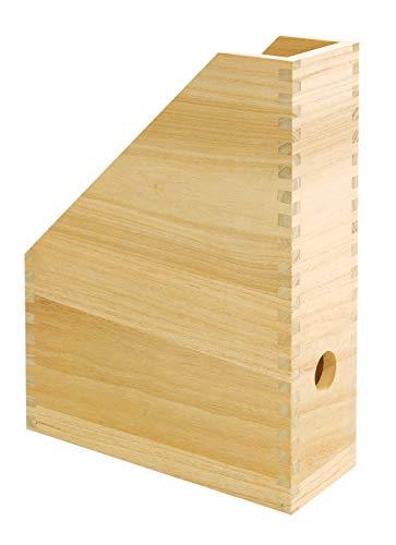 Porte-revues VBS, en bois, 25x9x32 cm