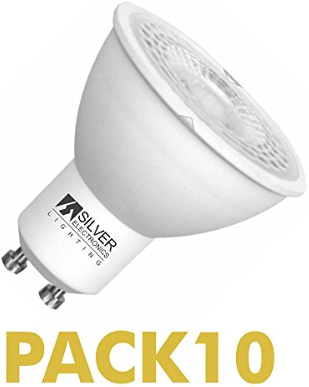 Pack 10 PCS LED Eco, 5 W GU10 3000 K