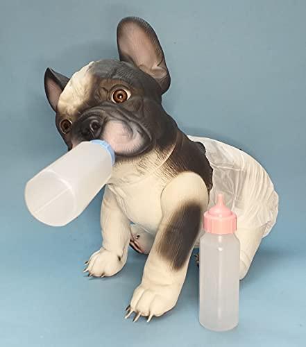 Baby Reborn Bulldog Francés - B&W - babybulldog.es