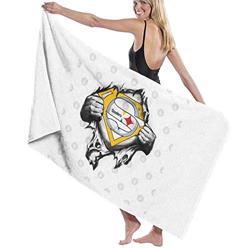 U/K Toalla de baño de superhéroe del equipo de fútbol de Feliz Navidad toalla de secado