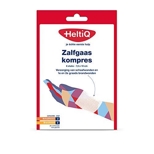 Heltiq Zalfgaas, 7.5cm x 10 cm, 6 Stuk