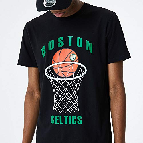 New Era Camiseta Boston Celtics Modelo NBA Basketball tee BOSCEL Marca