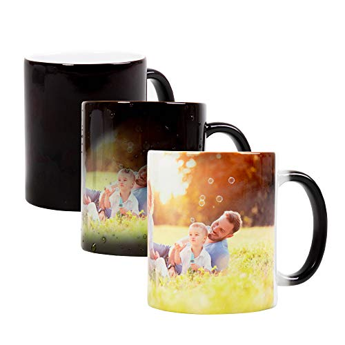 Stampa la Tua Foto su Tazza Personalizzata, Modello Mug in Ceramica per Uso Regalo,...