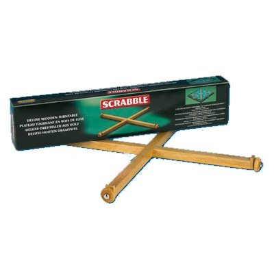 Piatnik Scrabble de Luxe Drehteller aus Holz