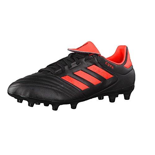adidas Copa 17.3 Fg, Zapatillas de Fútbol Hombre, Rojo (Core Black/Solar Red), 41 1/3 EU