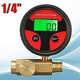 SENRISE - Valvola di controllo della pressione dell'aria 200 psi regolatore d'aria 1/4
