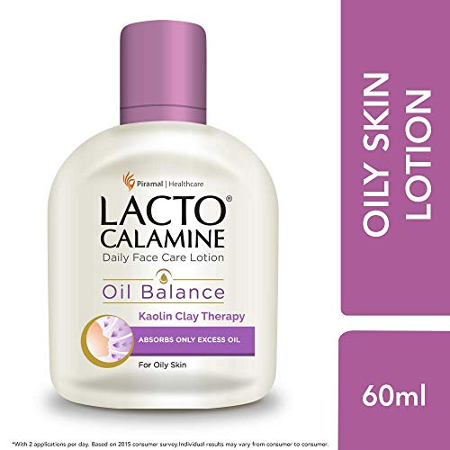 Lacto Calamine Face Lotion for Oil Balance - Oily Skin - 60...