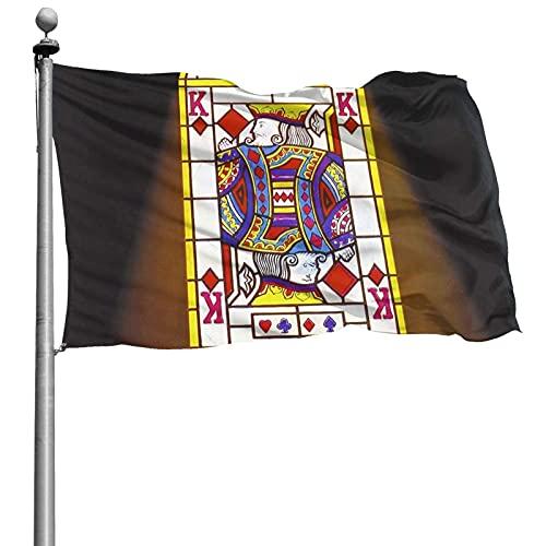 NIUPEE Bandera de arte hippie con diseño de Alan Parsons Project 10 x 15 cm, protección UV y resistente a la decoloración, banderas elegantes para decoración interior y exterior con ojales