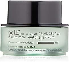 Belif Peat Revital Eye Cream | Gentle Eye Cream for Elasticity | Hydration, Improves Appearance of Wrinkles, Clean Beauty