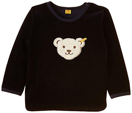 Steiff Steiff Unisex - Baby Sweatshirt 1/1 Arm, Gr. 86 (Herstellergröße: 86), Blau (Steiff marine blue 3032)