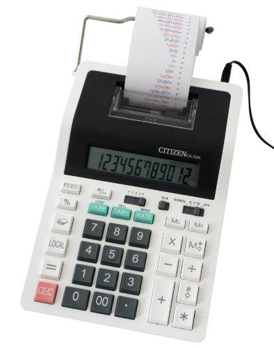 Citizen CX-32N Druckender Tischrechner Weiß