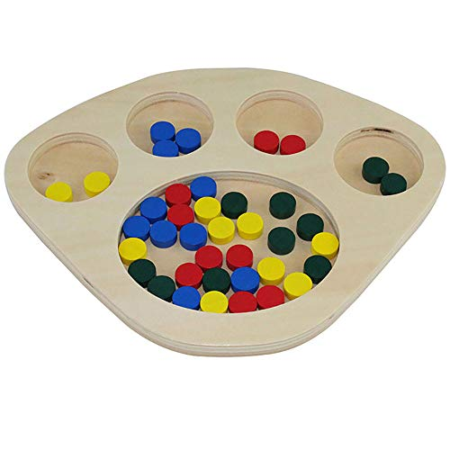 Montessori Infant Toys Materials for Toddlers Sorting Tray Montessori...