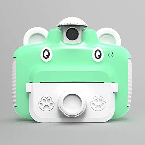 KDMB Cámara Pantalla a Color de 2,4 Pulgadas Que Puede Tomar fotografías, imprimible y Recargable, pequeña cámara Digital de Alta definición, Adecuada para Adolescentes, niños, principiantesC