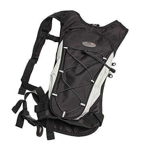 Mochila de bicicleta de 8 l, impermeable, bolsa de hidratación para correr, ciclismo, senderismo, escalada, camping, esquí, caza, ciclismo, color negro