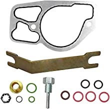 BLACKHORSE-RACING HPOP HIGH Pressure Oil Pump KIT & Base Gasket Compatible with 1994.5-2003 Ford 7.3 Powerstroke Diesel F250 F350 F450 F550 E250 E350 E450 Excursion 7.3L