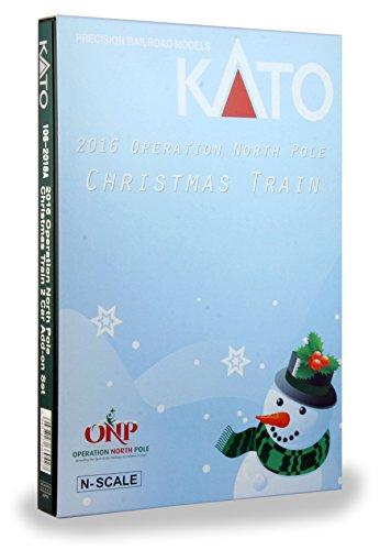 Kato Spur N Operation North Pole Christmas Ergänzungs Set