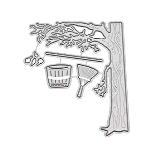 Bogji - herfst metalen stansvormen sjabloon DIY scrapbooking album stempel papier kaart reliëf craft decor