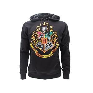 Harry Potter Sudadera con Capucha Hoodie Simbolo de Colegio DE Hogwarts Simbolo 4 Casas - 100% Oficial Warner Bros (XXL… 2