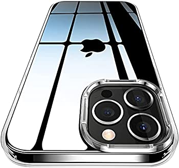 LOKTHOW Clear Designed Shockproof iPhone 13 Pro Max Case