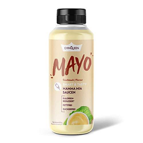 GymQueen Mamma Mia Zero Sauce, kalorienarm, ohne Fett & ohne Zucker, zum Verfeinern von Gerichten oder als Salat-Dressing, vegetarisch und laktosefrei, Mayo