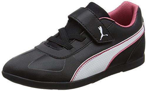 PUMA Unisex-Kinder Modern Soleil SL V PS Sneaker, Schwarz (Black-White), 33 EU