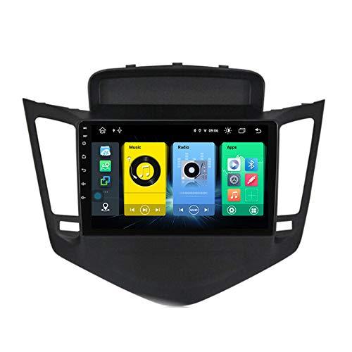 TypeBuilt Android Autoradio 9' Pantalla Tactil para Coche HD Radio De Coche Bluetooth SWC per Chevrolet Cruze 2009-2014 Coche Audio FM/Am/RDS Radio Video Player Bluetooth Radio Pantalla,C500