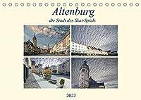 Altenburg, die Stadt des Skat-Spiels (Tischkalender 2022 DIN A5 quer): Eine aussergewoehnliche Stadt, wo immer noch Kartenspiele hergestellt werden. (Monatskalender, 14 Seiten )