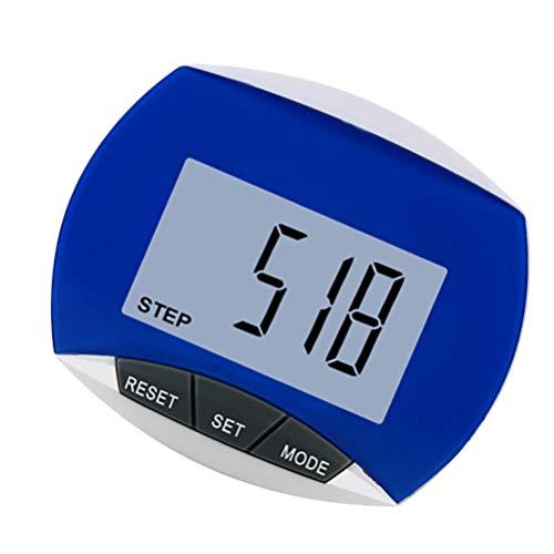Nicht branded Schrittzähler 3D Fitness Tracker Digital Schrittzähler Kalorienzähler präzise Monitor Tägliche Zielscheibe für Männer Frauen Kinder (Farbe