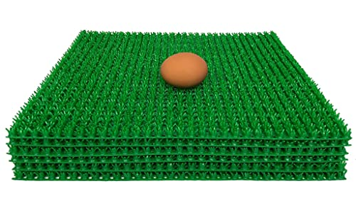 Washable Chicken Nesting Box Pads 6 Pack | for Chicken Coops, Hens Bedding, Hens House, Nesting Mat