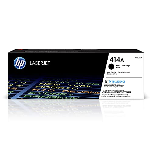 HP 414A | W2020A | Toner-Cartridge | Black | Works with HP Color LaserJet Pro M454 series, M479 series