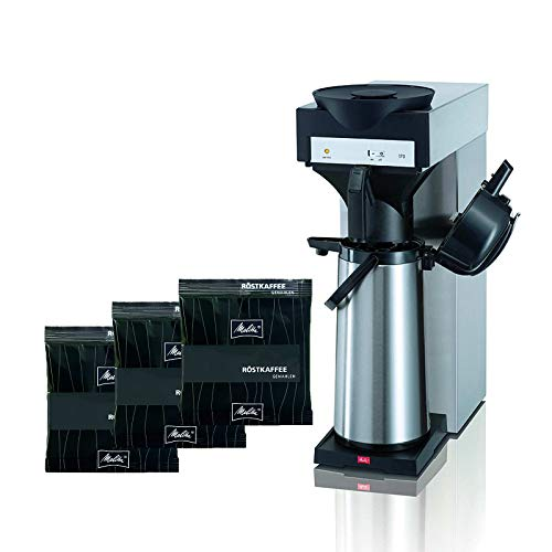 Melitta M 170 MT Filter-Kaffeemaschine inkl. Pumpkanne + Melitta Kaffee Spezial 75 x 60g