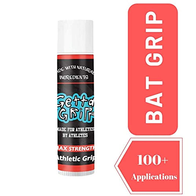 Getta Gripp Bat Grip - Comfortable Alternative for Baseball Gloves & Pine Tar - Baseball Bat Grip and Lizard Skin Bat Grip - Baseball Bat and Softball Bat - 1oz Maximum Strength