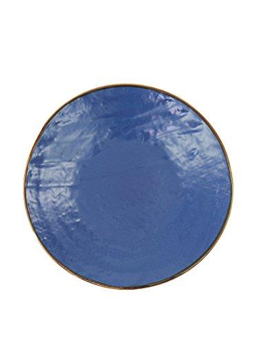 CKB LTD Steel Outdoor Bistro tavolino Pieghevole Asta Gambe e Vassoio Rimovibile Top Acciaio Verniciato a Polvere Antracite Opaco/ /Singolo Garden Furniture Table