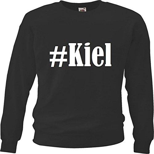 Reifen-Markt Sweatshirt Damen #Kiel Größe L Farbe Schwarz Druck Weiss