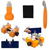 Watch Back Remover, Watch Battery Replacement Tool Kit Watch Adjustable Back Case Press Opener Closer Removal Knife Repair Holder Tool