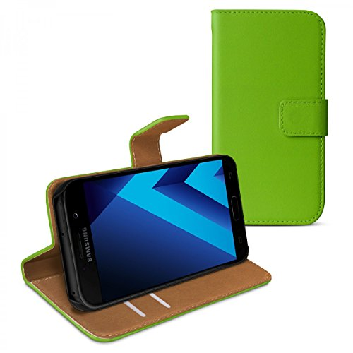 eFabrik Smartphone Cover per Samsung Galaxy A5 2017 Custodia Case di Protezione Accessori Colore Verde