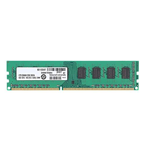 Fanuse Memoria RAM DDR3 de 4GB PC3-12800 1.5V 1600Mhz 240 Pines Memoria de Escritorio DIMM Sin BúFer y Sin ECC para Placa Madre de Escritorio