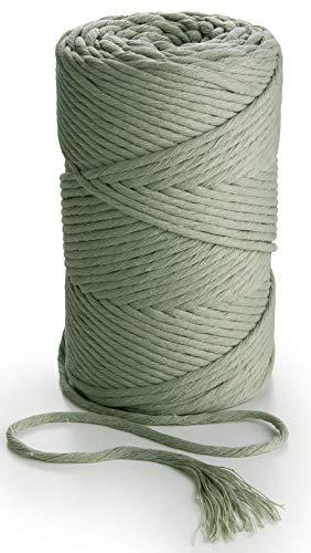 Cuerda de Algodón 5Mm Verde Marca MB Cordas