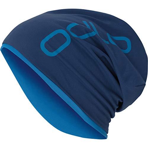 Odlo Hat Reversible Mütze, Estate Blue-Directoire Blue