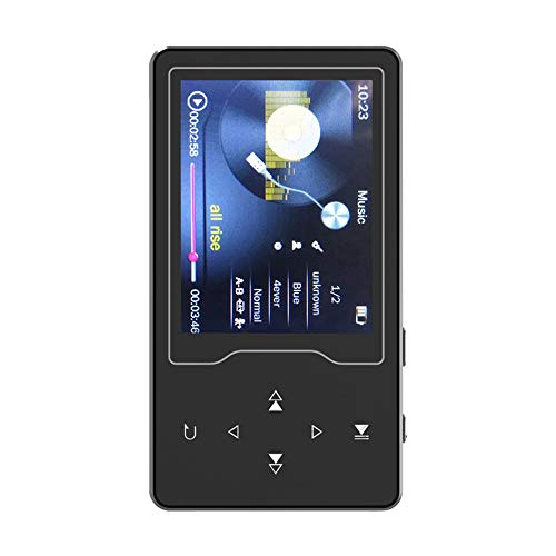 Docooler RUIZU D08 8GB MP3 MP4 Digital Player 2.4 Inch Screen Music Player Lossless Audio & Video Player FM Radio Recording E-Book Reading TF Card Read & Play with Headphone