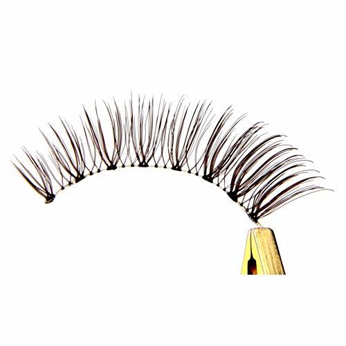 VanMe 1 Paire Brown Faux Cils Naturels Queue Longue Style Maquillage Oculaire. Tn011