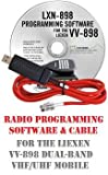 Liexen VV-898 Two-Way Mobile Radio Programming Software & Cable Kit
