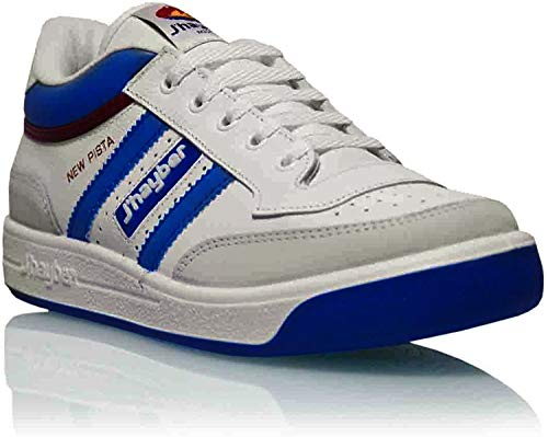 J´hayber 60608, Sneaker Unisex Adulto, Blanco/Azul, 43 EU
