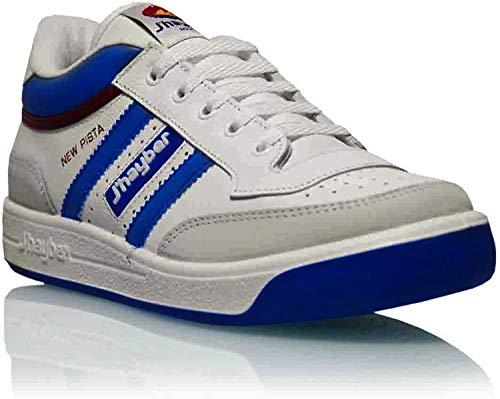 J´hayber - Zapatillas New Pista Blanco ad. Azulina