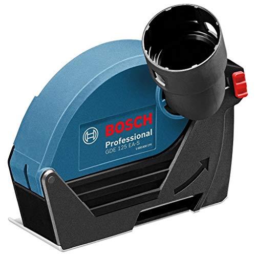 Bosch Professional Absaughaube GDE 125 EA-S zum Trennen (geeignet für Bosch Professional Winkelschleifer, die eine Schutzhaube mit Schraubverschluss besitzen, Scheiben-Ø 125mm, im Karton)
